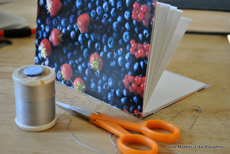 make your own notebook like mother like daughter